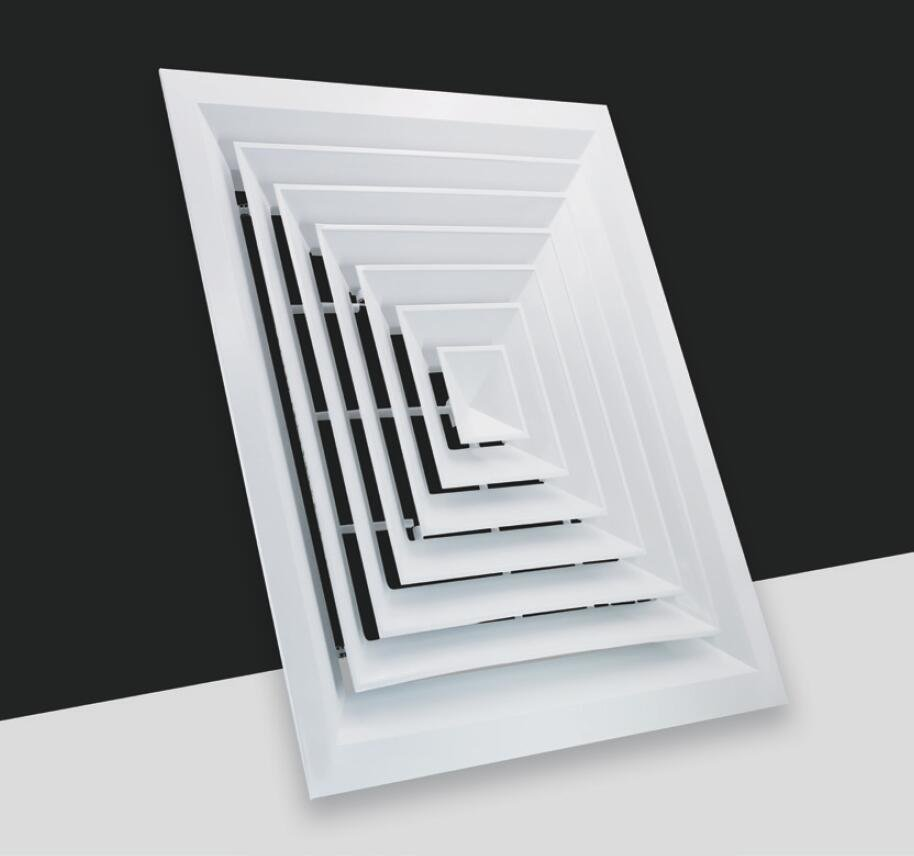FK003/F-4 Way Square ceiling diffuser