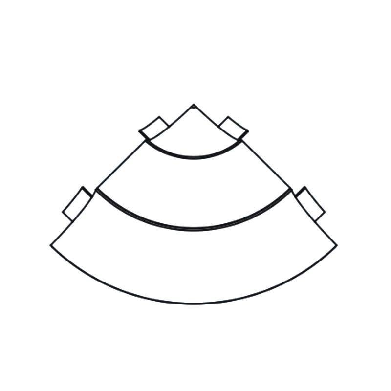 R100 one-piece the iternal angle and externl angle