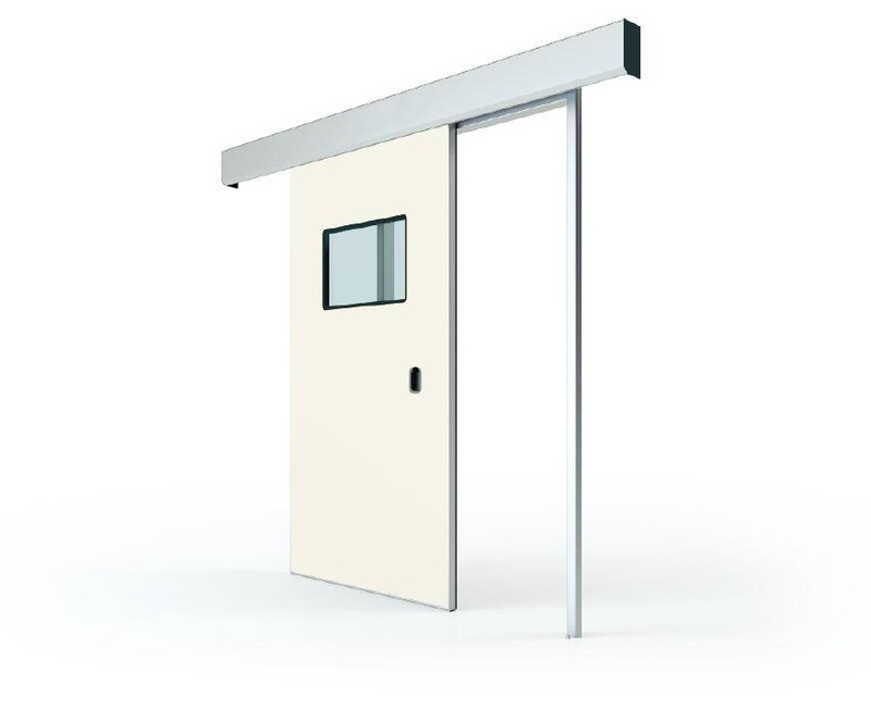 Translation sliding automatic door