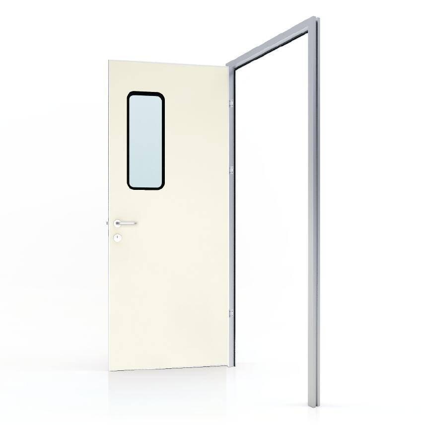 50# Swing door with colored GI panel (door leaf thickness 40mm)