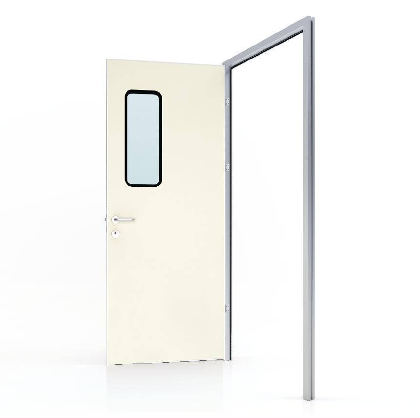 50# Swing door with colored GI panel (door leaf thickness 40mm)