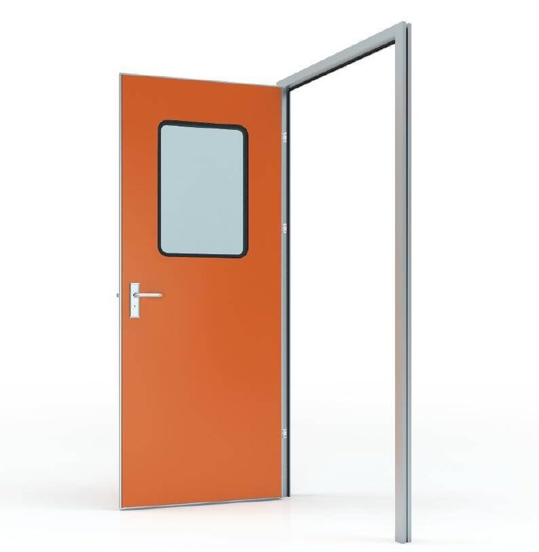#50 Swing door with HPL panel (door leaf thickness 40mm)