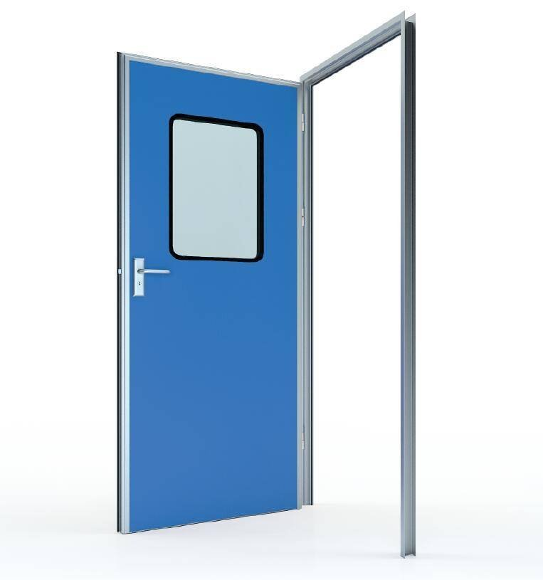 #50 Swing door with colored GI panel (door leaf thickness 50mm)