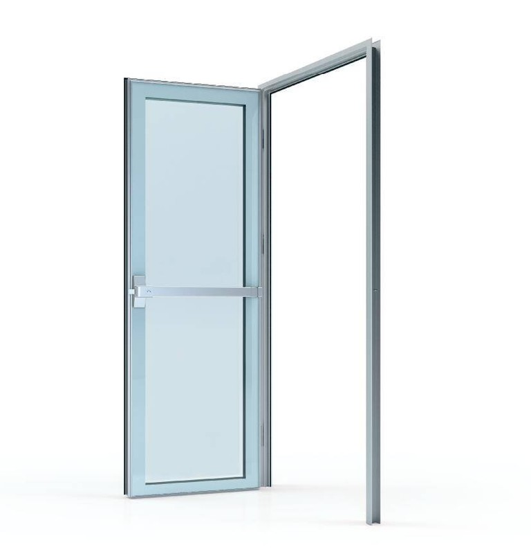 50# Glass swing door (door leaf thickness 50mm)