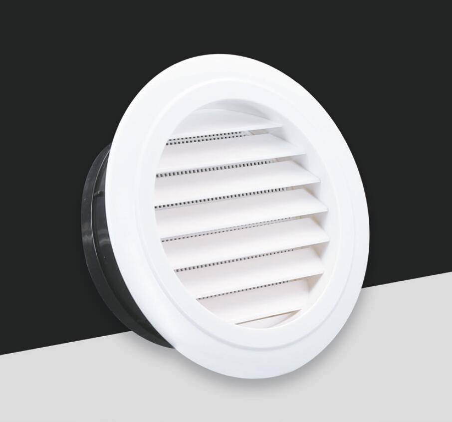 ABS-017 Round air grille in 45° angle blades