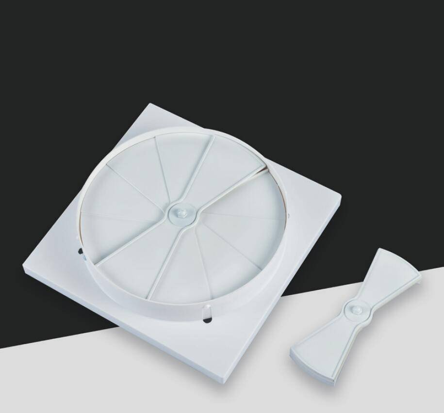 ABS-002 Air adapt collar with fan blade damper