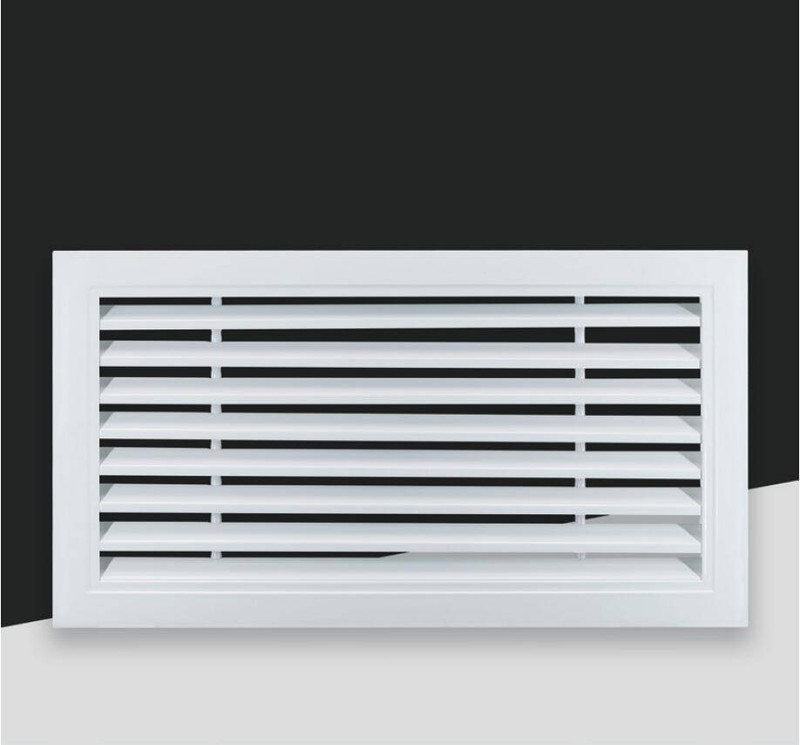 PVC-001 Open hinged air return grille