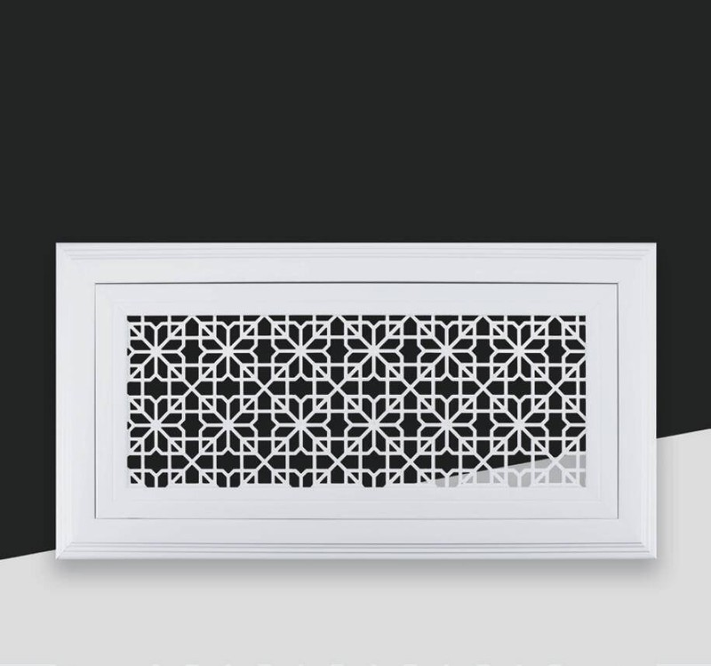 PVC-008 Decorative wall grille