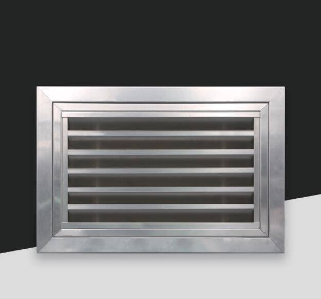 BX-002 SUS Opened air return grille