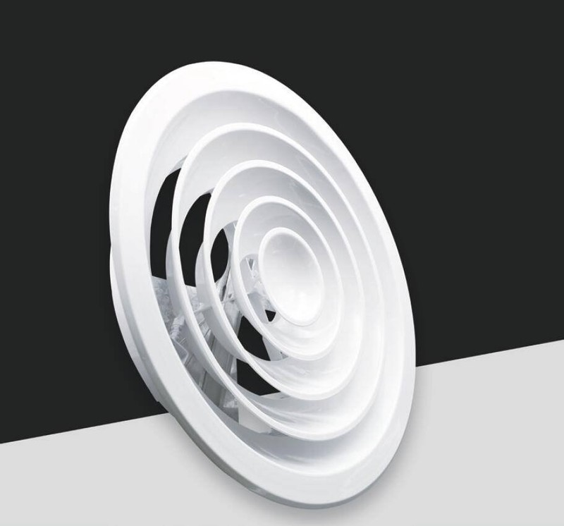FK005-Round ceiling diffuser with damper