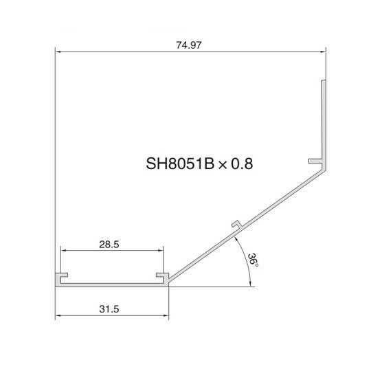 Air Diffuser Profile 1