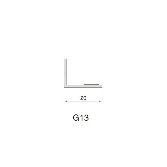 G13 AIR DIFFUSER PROFILE