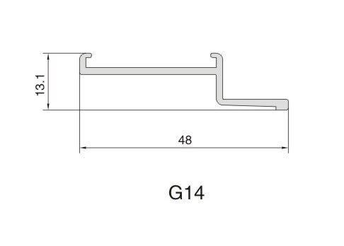 G14 AIR DIFFUSER PROFILE