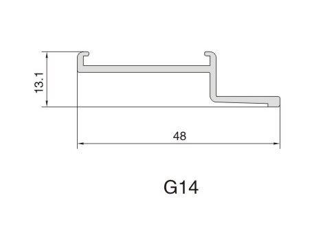 G14 AIR DIFFUSER PROFILE