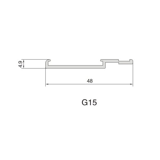 G15 AIR DIFFUSER PROFILE