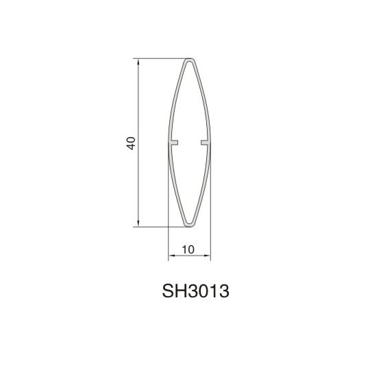 SH3013 AIR DIFFUSER PROFILE