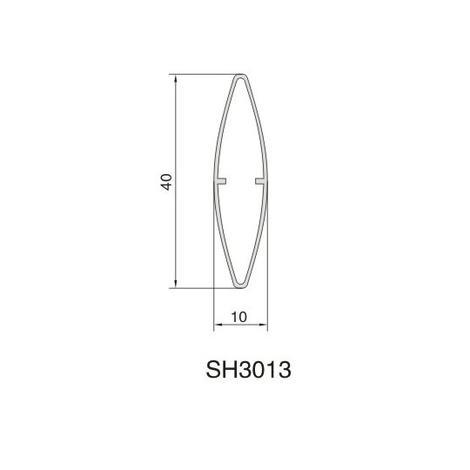 SH3013 AIR DIFFUSER PROFILE