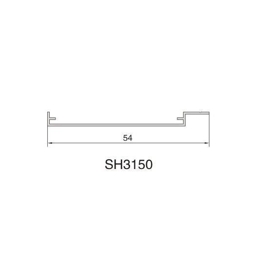 SH3150 AIR DIFFUSER PROFIEL
