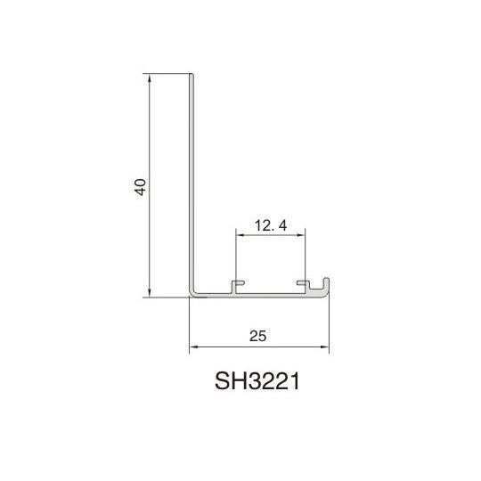 SH3221 AIR DIFFUSER PROFIEL