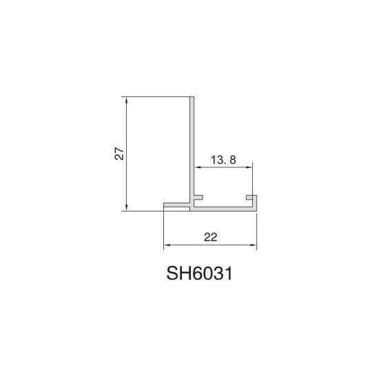 SH6031 AIR DIFFUSER PROFILE