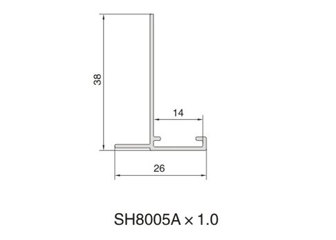 SH8005A AIR DIFFUSER PROFILE