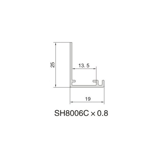 SH8006C AIR DIFFUSER PROFILE