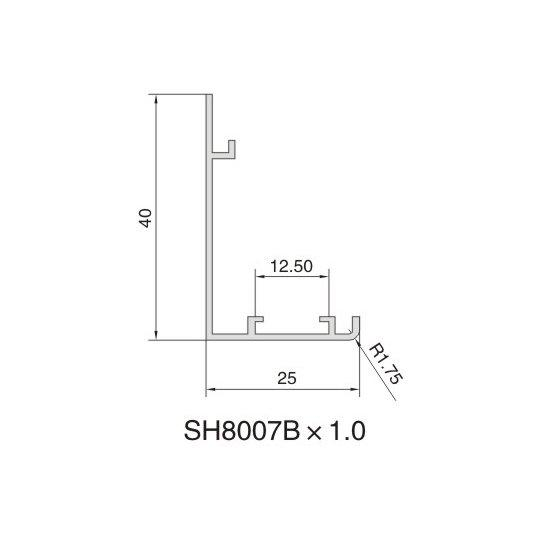 SH8007B AIR DIFFUSER PROFILE