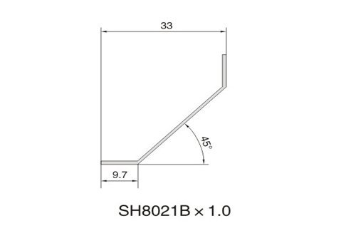 SH8021B AIR DIFFUSER PROFILE
