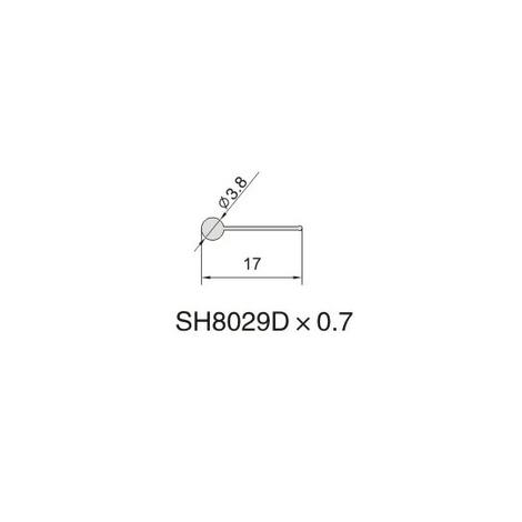 SH8029D AIR DIFFUSER PROFILE
