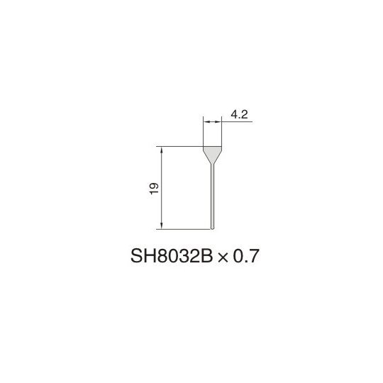 SH8032B AIR DIFFUSER PROFILE