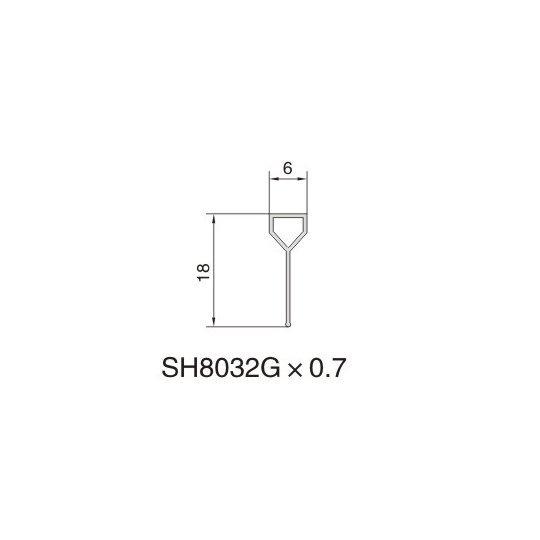SH8032B AIR DIFFUSER PROFILE