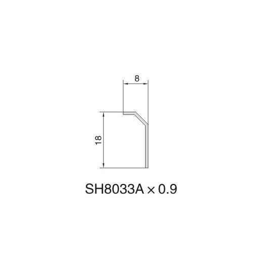 SH8033A AIR DIFFUSER PROFILE