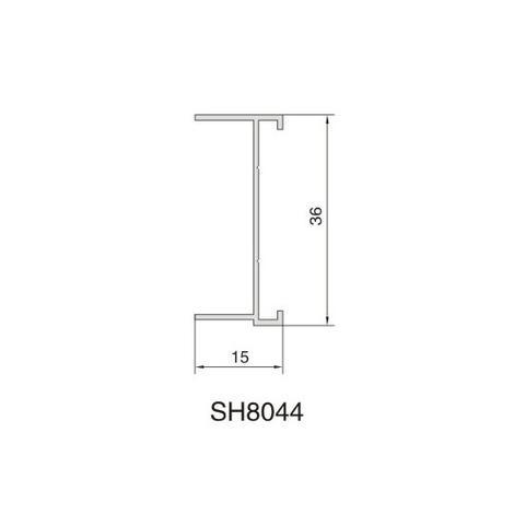 SH8044 AIR DIFFUSER PROFILE