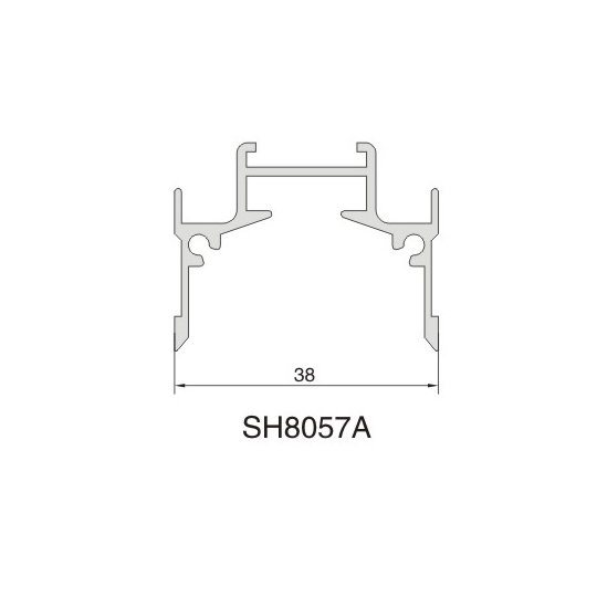 SH8057A AIR DIFFUSER PROFILE