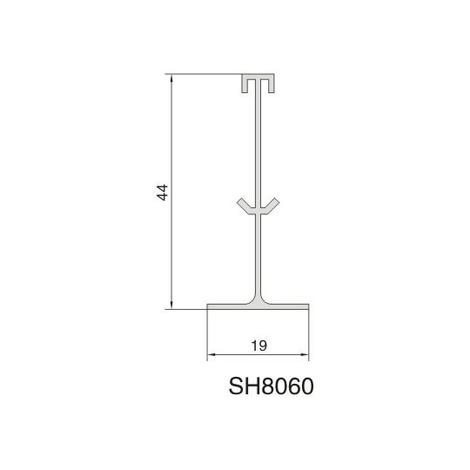 SH8060 AIR DIFFUSER PROFILE