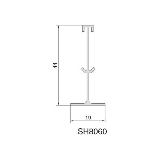 SH8060 AIR DIFFUSER PROFILE