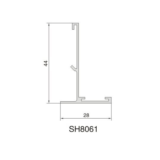 SH8061 AIR DIFFUSER PROFILE