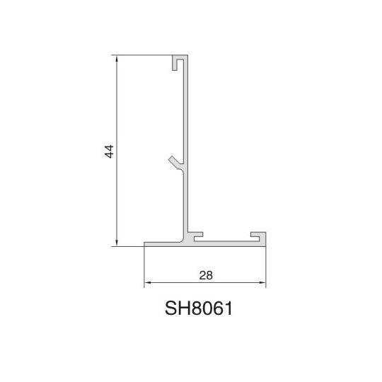 SH8061 AIR DIFFUSER PROFILE
