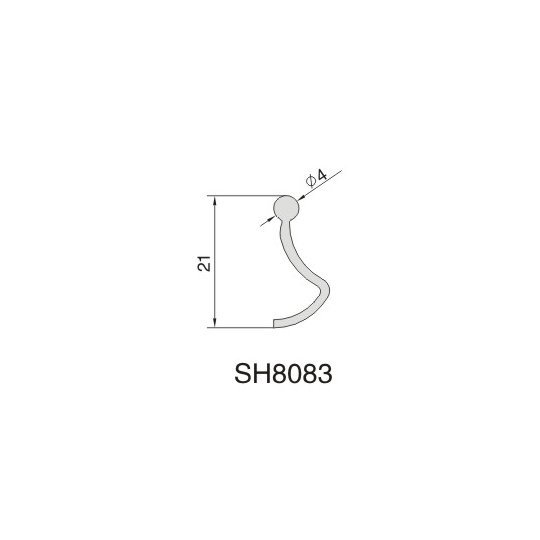 SH8083 AIR DIFFUSER PROFILE