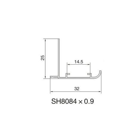 SH8084 AIR DIFFUSER PROFILE