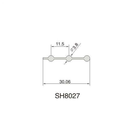 SH8027 AIR DIFFUSER PROFILE