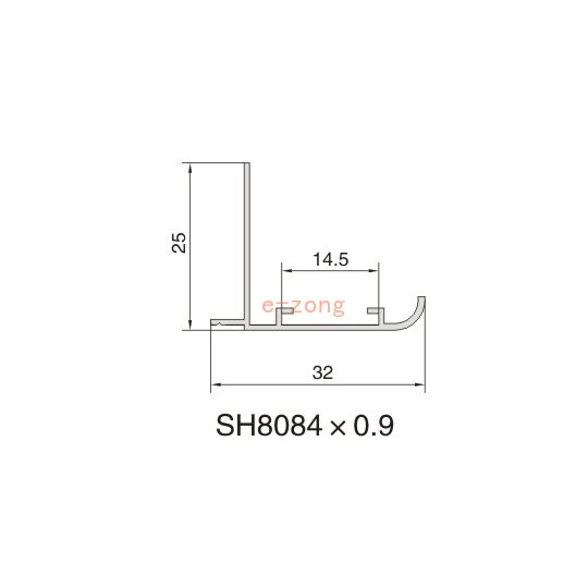 SH8084 AIR DIFFUSER PROFILE