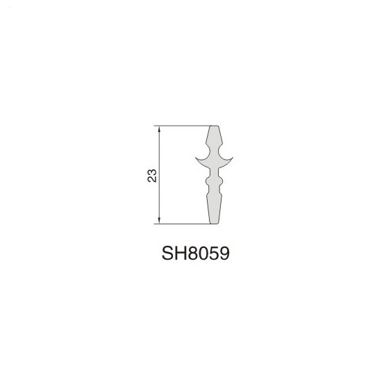 SH8059 AIR DIFFUSER PROFILE